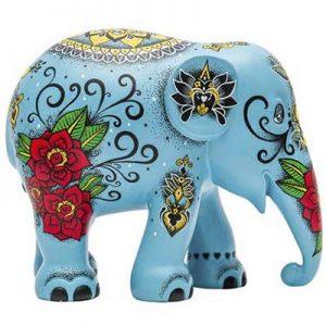 elefante indiano oggetto collezione arte